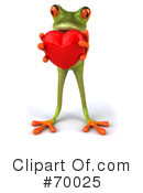 Springer The Tree Frog Character Clipart #70025 by Julos