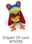 Springer The Tree Frog Character Clipart #70032 by Julos