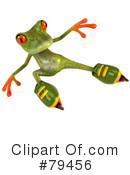 Royalty-Free (RF) Springer The Tree Frog Character Clipart Illustration #79456