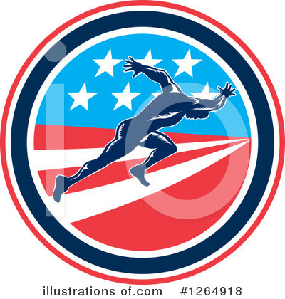 Track And Field Clipart #1264918 by patrimonio