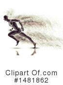 Sprinting Clipart #1481862 by KJ Pargeter