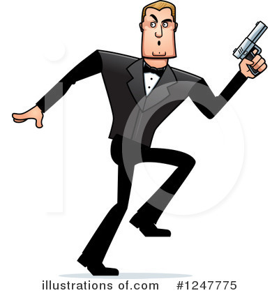 Spy Clipart #1247775 by Cory Thoman