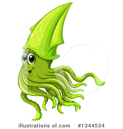 Squid Clipart #1344534 by Graphics RF