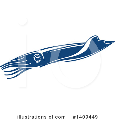 Seafood Clipart #1409449 by Vector Tradition SM