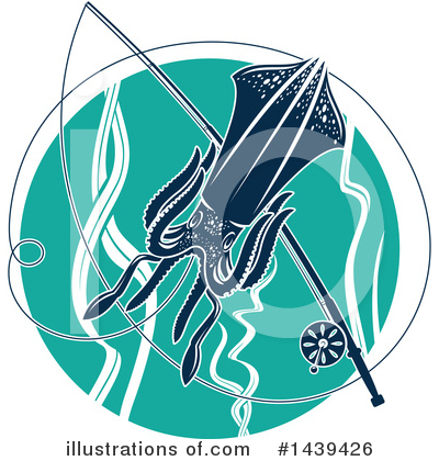 Squid Clipart #1439426 by Vector Tradition SM