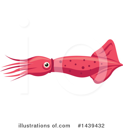 Squid Clipart #1439432 by Vector Tradition SM