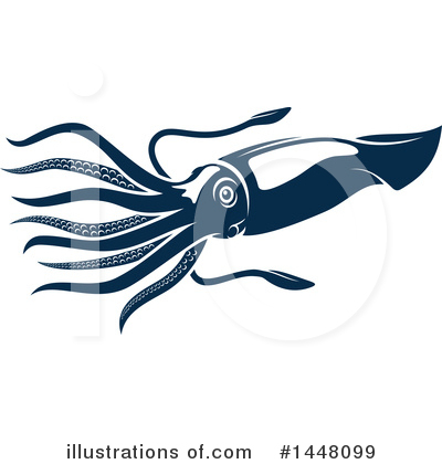 Squid Clipart #1448099 by Vector Tradition SM