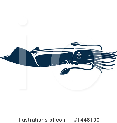 Squid Clipart #1448100 by Vector Tradition SM