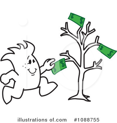 Money Tree Clipart #1088755 by Toons4Biz