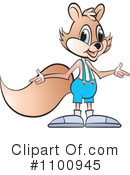 Royalty-Free (RF) squirrel Clipart Illustration #1100945