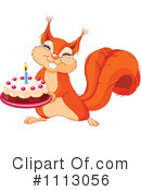 Squirrel Clipart #1113056 by Pushkin