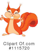 Squirrel Clipart #1115720 by Pushkin
