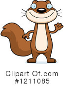 Squirrel Clipart #1211085 by Cory Thoman