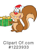 Squirrel Clipart #1223933 by Hit Toon