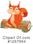 Squirrel Clipart #1267964 by Pushkin