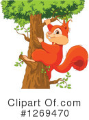 Squirrel Clipart #1269470 by Pushkin