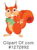 Squirrel Clipart #1272892 by Pushkin