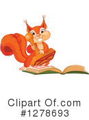 Royalty-Free (RF) Squirrel Clipart Illustration #1278693
