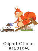 Squirrel Clipart #1281640 by Pushkin