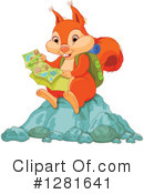 Squirrel Clipart #1281641 by Pushkin