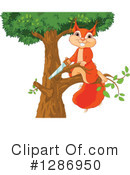 Squirrel Clipart #1286950 by Pushkin