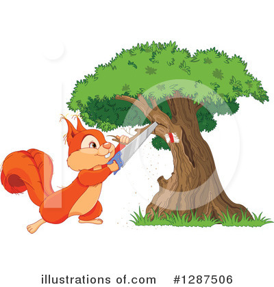 Tree Clipart #1287506 by Pushkin