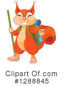 Royalty-Free (RF) Squirrel Clipart Illustration #1288845