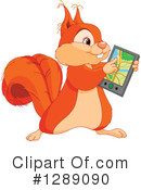 Squirrel Clipart #1289090 by Pushkin