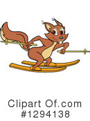 Squirrel Clipart #1294138 by LaffToon