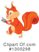 Squirrel Clipart #1300298 by Pushkin