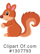 Squirrel Clipart #1307793 by visekart