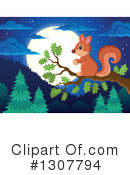 Squirrel Clipart #1307794 by visekart