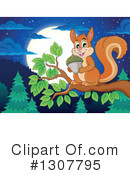 Squirrel Clipart #1307795 by visekart