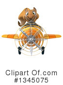 Royalty-Free (RF) Squirrel Clipart Illustration #1345075
