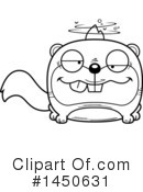 Squirrel Clipart #1450631 by Cory Thoman