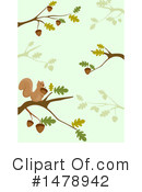 Royalty-Free (RF) Squirrel Clipart Illustration #1478942