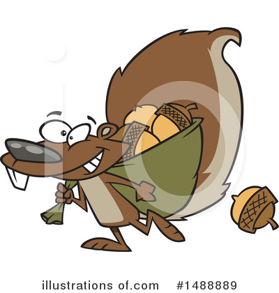 Acorn Clipart #1488889 by toonaday