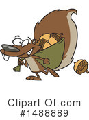 Squirrel Clipart #1488889 by toonaday