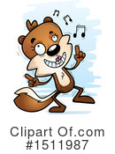 Squirrel Clipart #1511987 by Cory Thoman