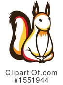 Squirrel Clipart #1551944 by Cherie Reve