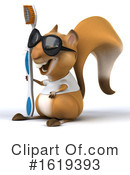 Squirrel Clipart #1619393 by Julos