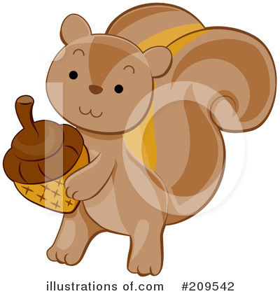 Acorn Clipart #209542 by BNP Design Studio