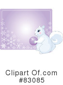 Royalty-Free (RF) Squirrel Clipart Illustration #83085