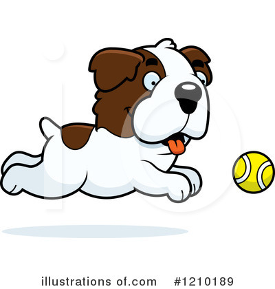 St Bernard Clipart #1210189 by Cory Thoman
