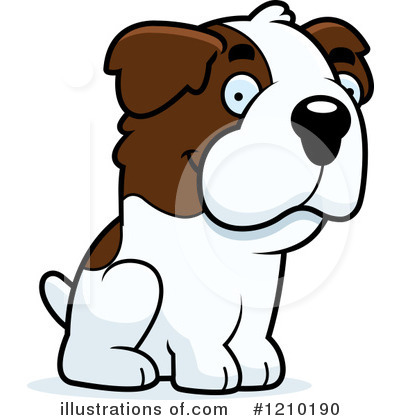 Dog Clipart #1210190 by Cory Thoman