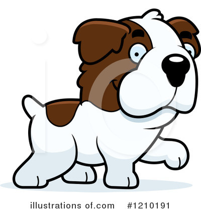 St Bernard Clipart #1210191 by Cory Thoman