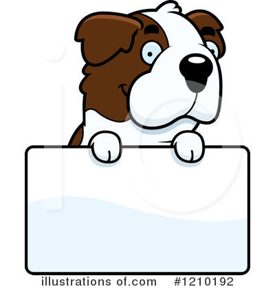 St Bernard Clipart #1210192 by Cory Thoman
