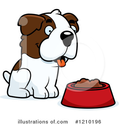 St Bernard Clipart #1210196 by Cory Thoman
