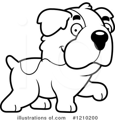 St Bernard Clipart #1210200 by Cory Thoman
