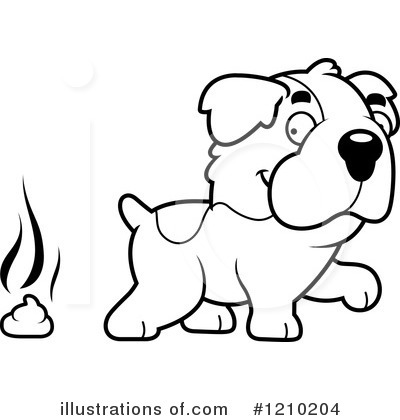 St Bernard Clipart #1210204 by Cory Thoman
